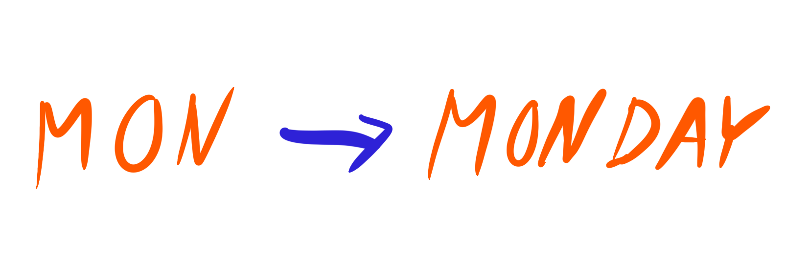 abbreaviation ilustration