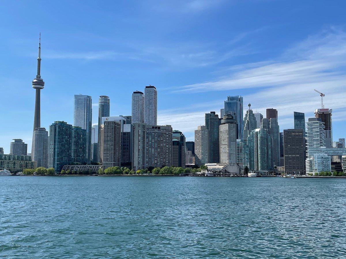 Photo of Toronto skyline by Danijela