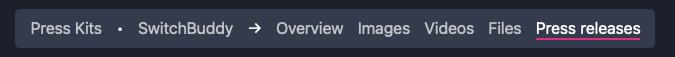 ImpressKit - reworked navbar navigation