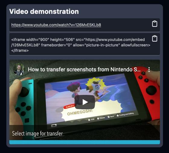 ImpressKit - create press kit with YouTube videos