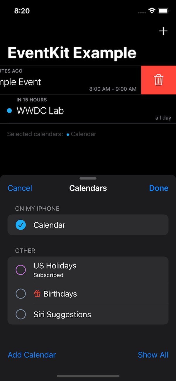iOS 15 - Bottom sheet without dimming
