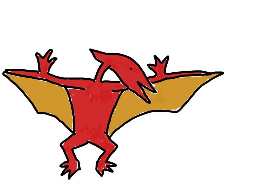 Josh Holtz's dinosaur drawing 2