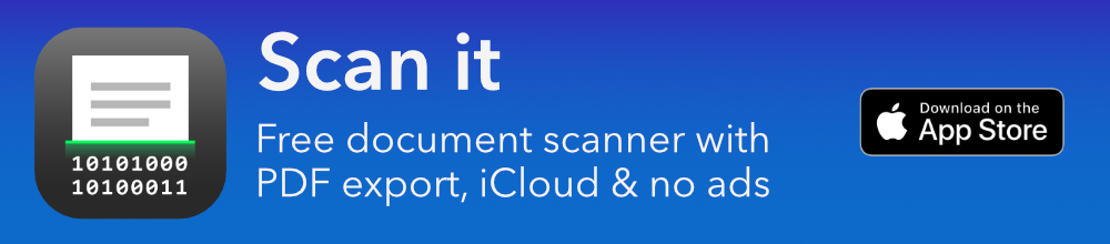 Scan it banner