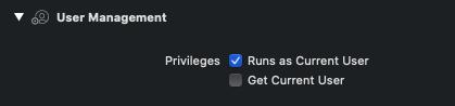 tvOS multiple users capability Xcode